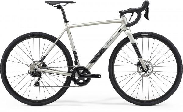 Merida Mission CX 400 Cyclo Cross 2021 - grau schwarz/silber