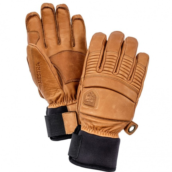 Hestra Leather Fall Line 5 Finger Glove - cork