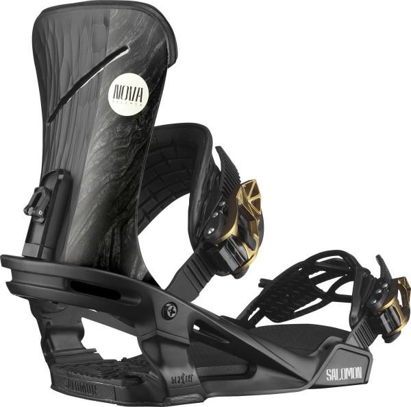 Salomon Snowboardbindung Nova 2021 - black