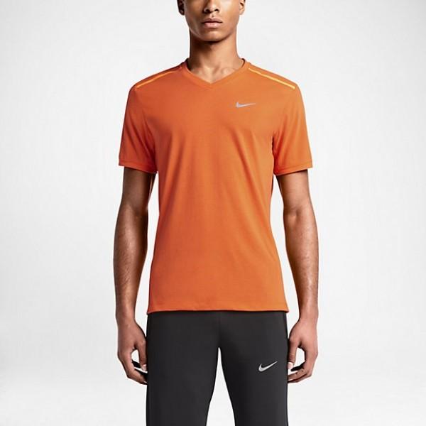 Nike Tailwind SS V Men - electro orange/ reflective