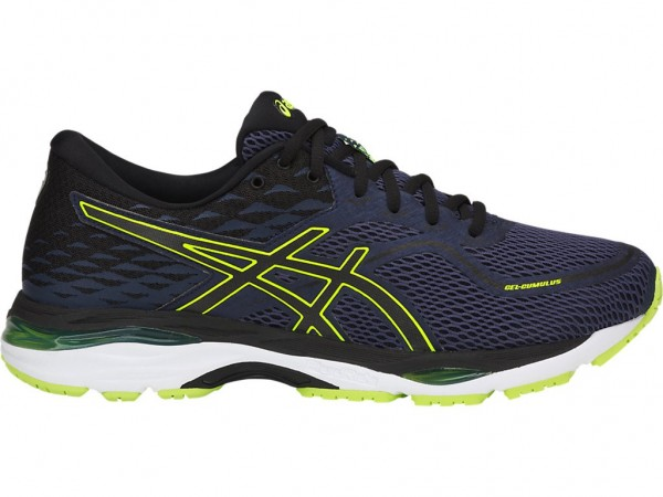 Asics Gel-Cumulus 19 Men -indigo blue/black/safety yellow