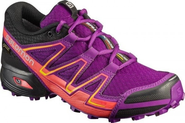 Salomon Speedcross Vario GTX Women - passion purple/black/gecko green