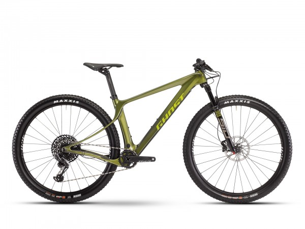Mountainbike Ghost Lector SF LC Universal - uni olive