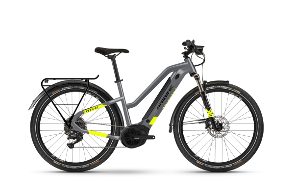 Haibike Trekking 6 i500 Wh Low Standover - cool grey