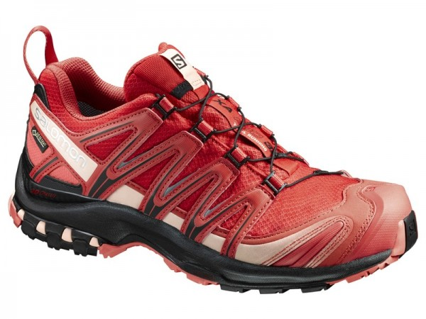 Salomon XA PRO 3 D GTX Woman - poppy red/black/living coral
