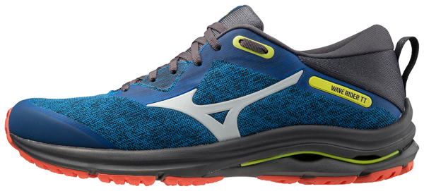Mizuno Wave Rider TT 2 Men - DBlue/DawnB/MandarinRed