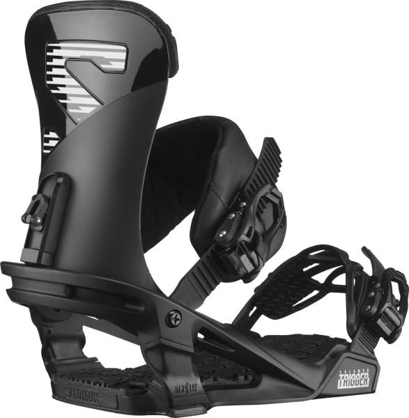 Salomon Snowboardbindung Trigger 2021 - black