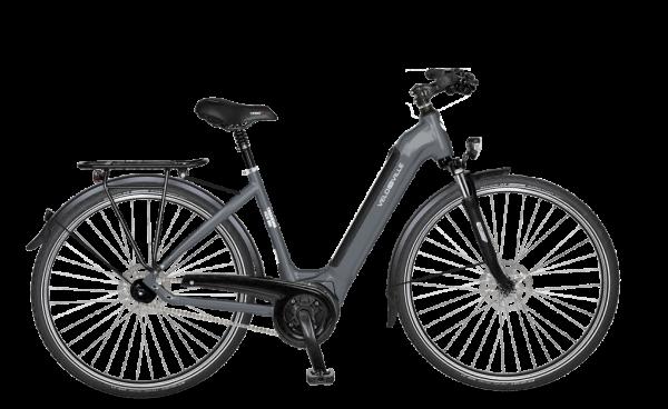 E-Bike Velo de Ville AEB 990 Intube Allround 5-Gang Nexus Freilauf - stone basalt