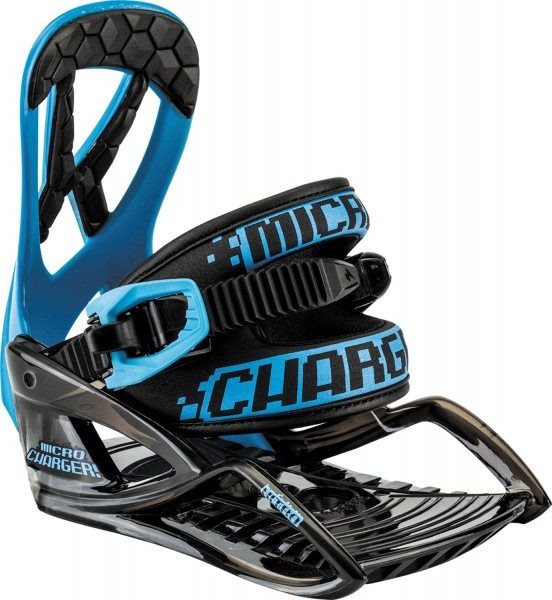 Nitro Snowboardbindung Micro Charger - blue