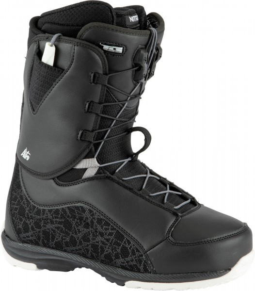Nitro Damen Snowboardboots Futura TLS 2021- black-white