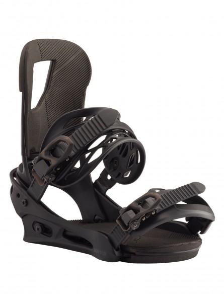 Burton Snowboardbindung Cartel - black matte