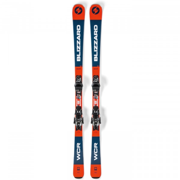 Blizzard Ski Set WCR + TLT10 Demo - orange/blue