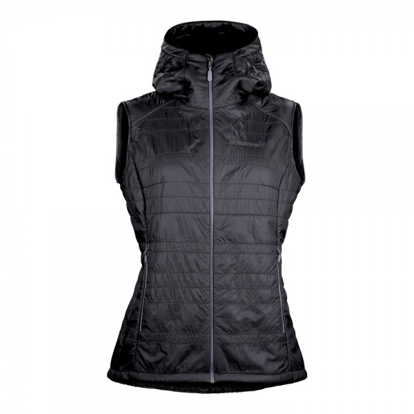 Norrona Lyngen alpha100 Vest Women -cool black