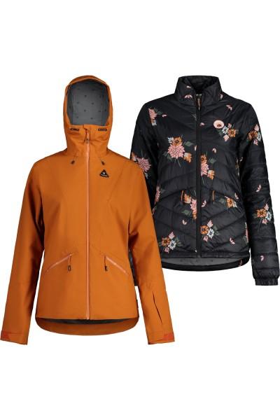 Maloja LoleM. 3 in 1 Padded Jacket Damen-dark tiger