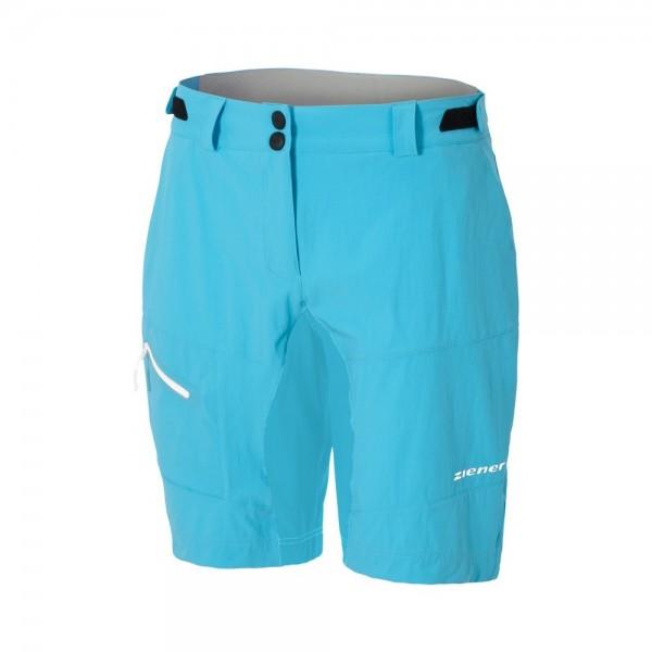 Ziener CHACKA SPEED AIR GEL Shorts -pool blue/black