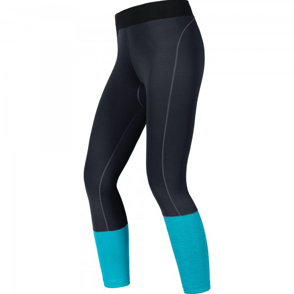 Gore Sunlight Lady Tights 7/8 -black/scuba blue
