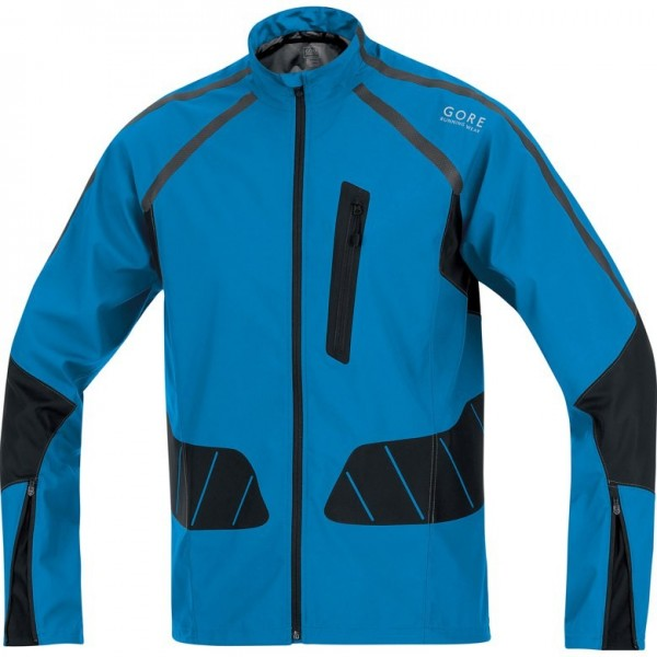 Gore Running Wear X-Running AS Jacke Men - splash blue/ black