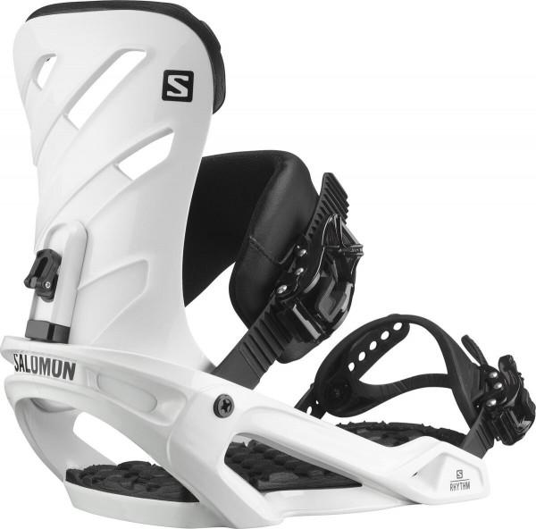 Salomon Snowboardbindung Rhythm 2021 - white