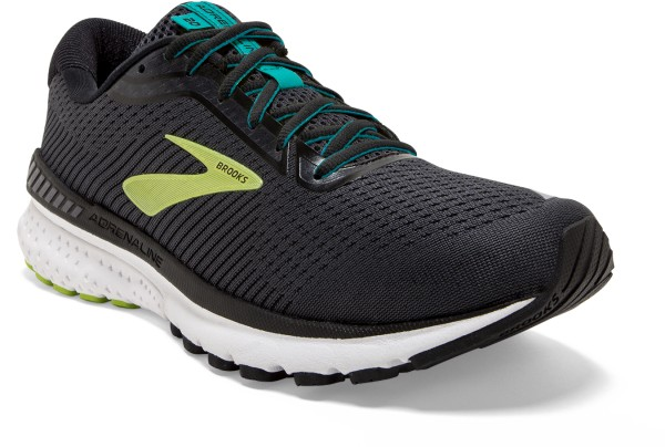 Brooks Adrenaline GTS 20 Men - black/lime/blue grass