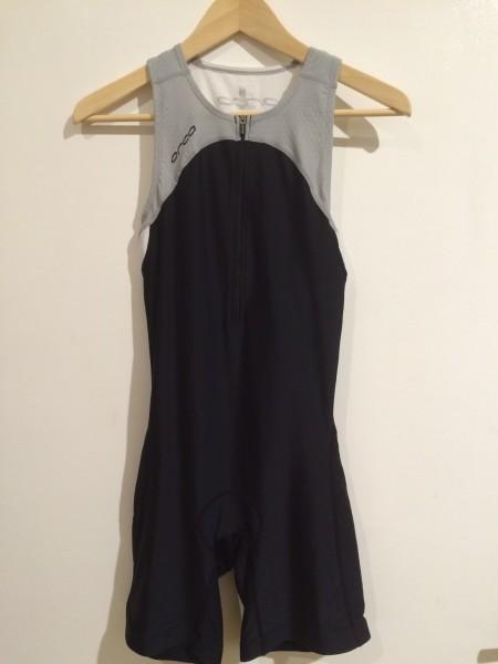Orca Race Suit Women - black/ silver