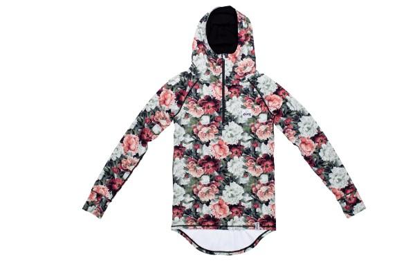 Eivy Icecold Zip Hood Top Damen - autumn bloom