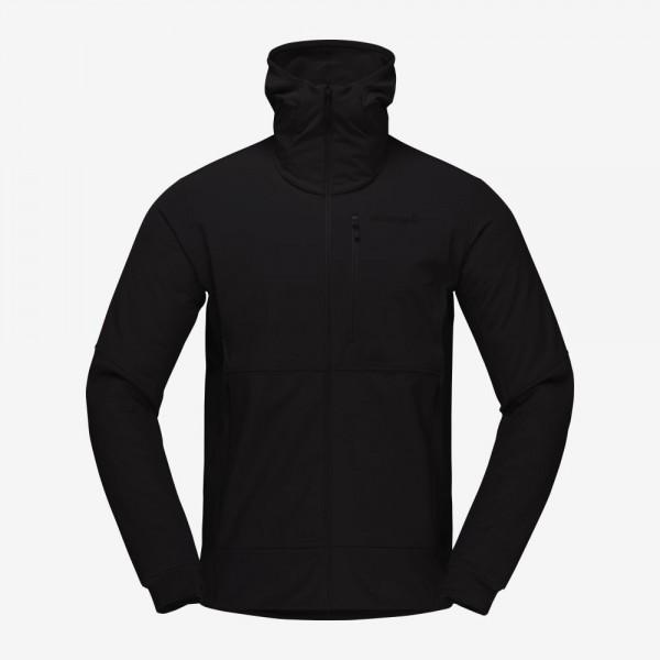 Norrona Lofoten Hiloflex200 Hood Jacket Men - caviar