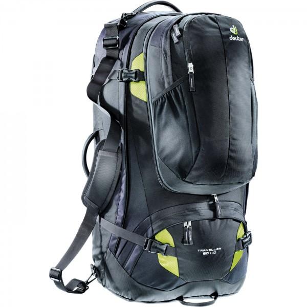 Deuter Traveller 80 + 10 - black/moss
