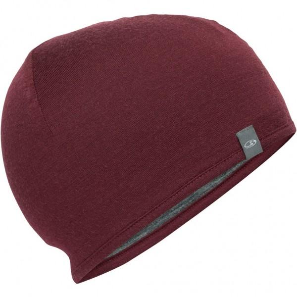 Icebreaker Merino Pocket Hat - redwood