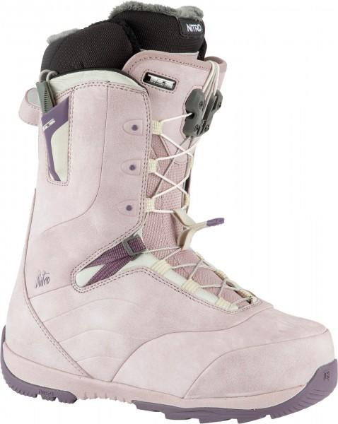 Nitro Damen Snowboard Boots Crown TLS 2021 - rose-purple