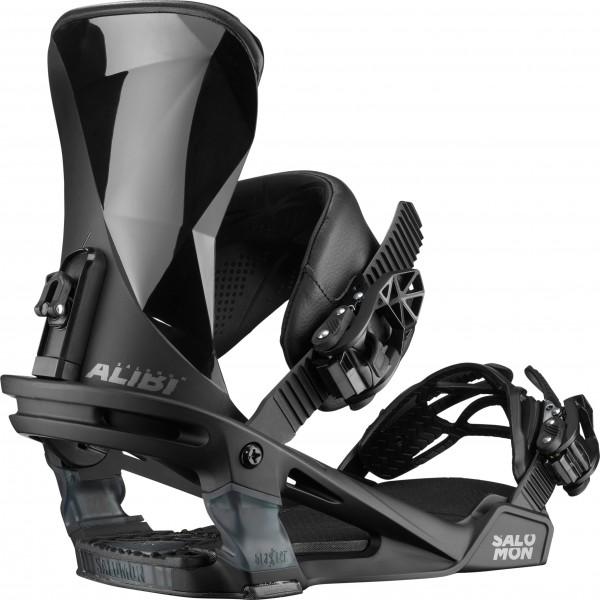Salomon Snowboardbindung Alibi 2020 - black