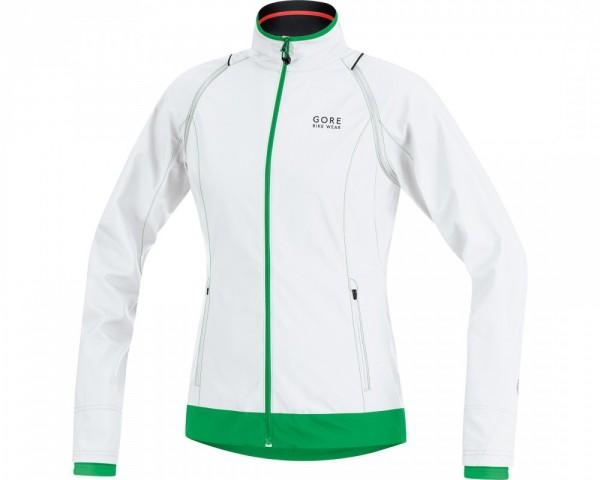 GORE Bike Wear Element Lady WS AS Zip Off Jacket - white/ fresh green