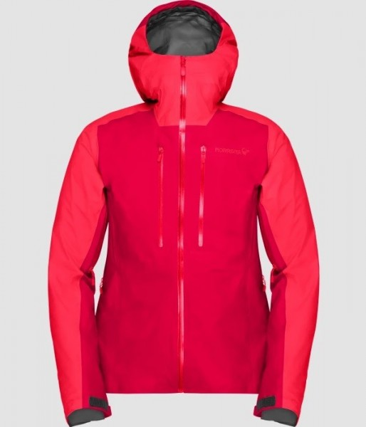 Norrona Lyngen Gore-Tex Jacket Women - jester red