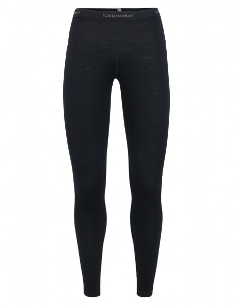 Icebreaker Merino Womens 200 Oasis Leggings - black