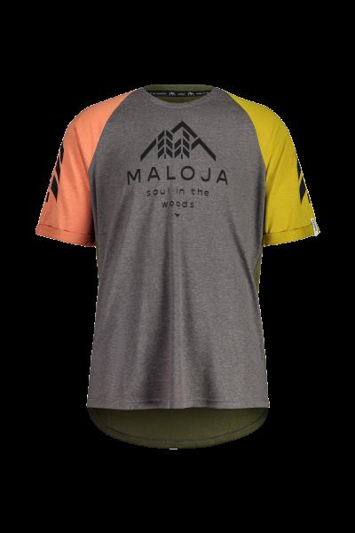 Maloja DrachenmaulM.. T-Shirt für Herren - stone multi