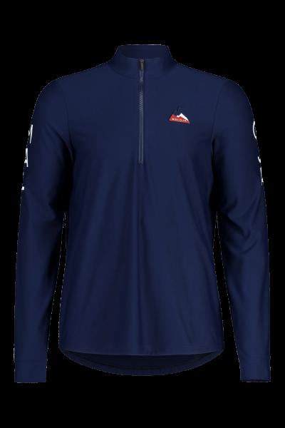 Maloja GoldammerM. Long Sleeve Multisport Jersey für Herren-night sky