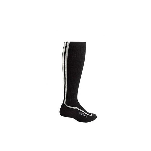 Icebreaker Socks Skier Mid Men -black/white/black