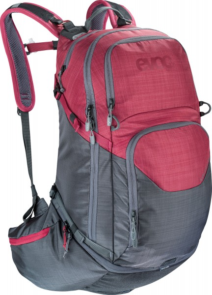Evoc Explorer Pro 30 Liter - heather carbon grey/heather ruby