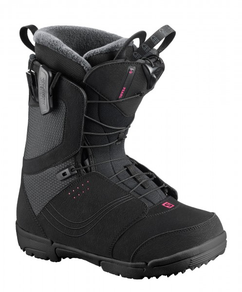 Snowboardboots Damen Salomon Pearl 2020 - black