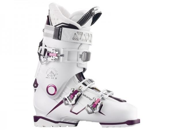 Salomon QST Pro 80 W - white/burgandy/pink