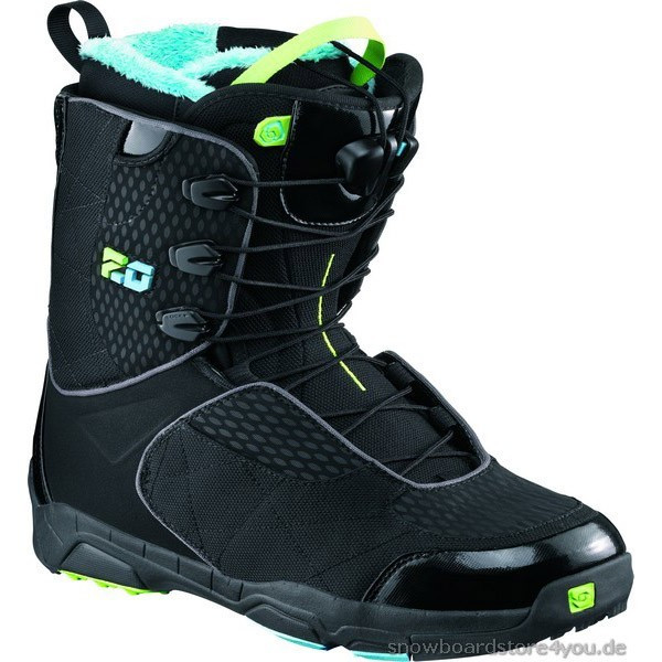 Salomon Boot F 20 -black/score blue