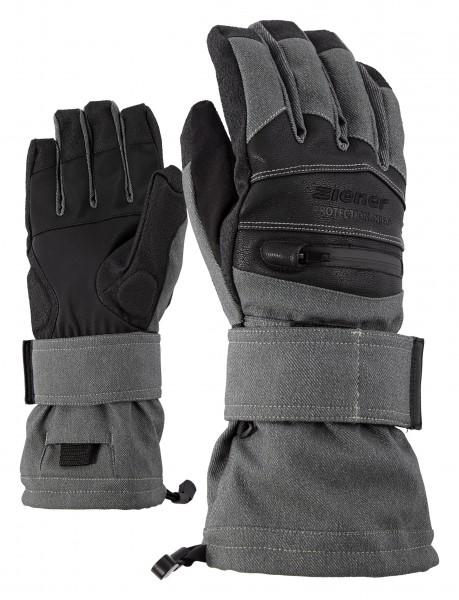 Ziener Midlife AS(R) Glove 17/18 -grey denim