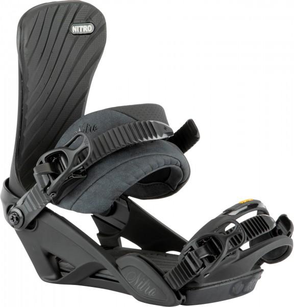 Nitro Snowboard Bindung Ivy Damen 2021 - ultra black