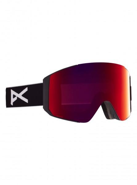 Anon Sync Goggles + Bonusglas-black/perceive Sunny Red
